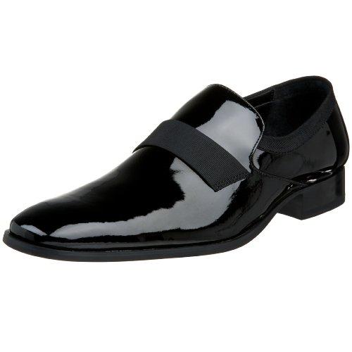 Calvin Klein Men's Guilford Slip-OnBlack Patent10.5 M (Calvin Klein Mens Slip)