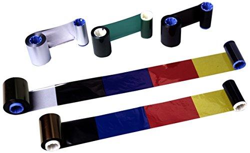 Zebra Technologies 05555GS11007 Desktop Ribbon, Wax/Resin, 244' L x 4.3