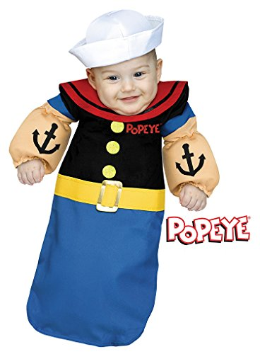 Baby Popeye Bunting Infant Costume - fits up to 9 Months]()