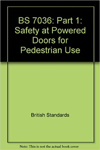 BS 7036: Part 2: Safety at Powered Doors for Pedestrian Use