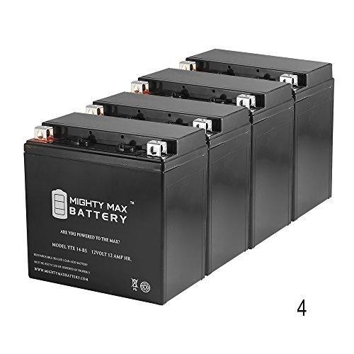 YTX14-BS Battery for Moto Guzzi 750 V7, Racer '12-'16 - 4