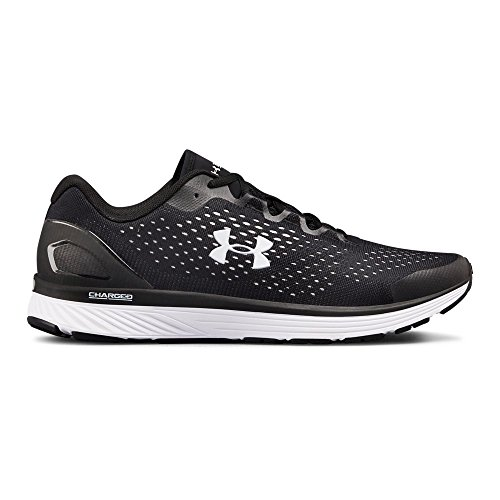 Under Armour Men's Charged Bandit 4  Running Shoe, (001)/Black, 11