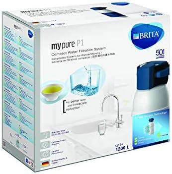 BRITA My Pure - Grifo de Agua con Filtro para 12 Meses, Acero ...