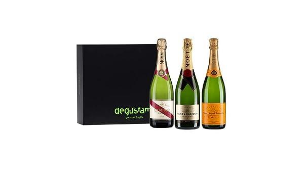 Estuche con Trio de Champagnes: Amazon.es: Alimentación y bebidas