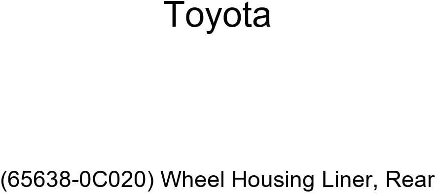 Wheel Housing Liner Genuine Toyota 65638-0C020 Rear