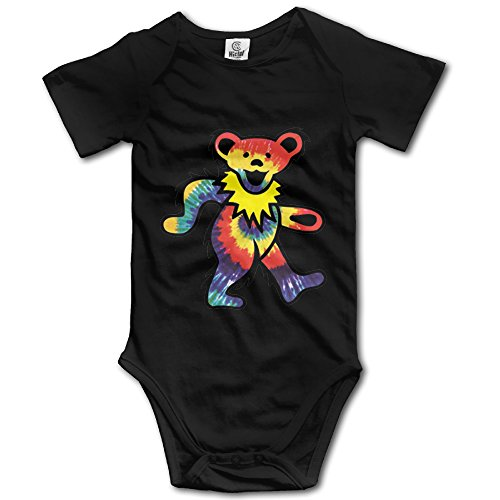 Rock The Grateful Dead Dancing Bear Baby Onesie Baby Clothes