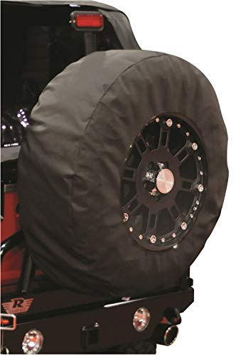 Rampage Products 783535 Universal X-Large Window Pane Tire Cover with 17