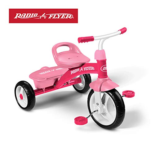 Radio Flyer Pink Rider Trike (Amazon Exclusive) (Radio Pink Flyer Bike)