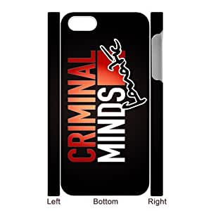 Gdragonhighfive Plastic Skin Case Compatible Apple iPhone 5 , Personalized Criminal Minds by runtopwell