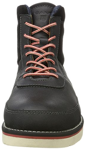 GANT Herren Huck Chukka Boots Schwarz (Black)