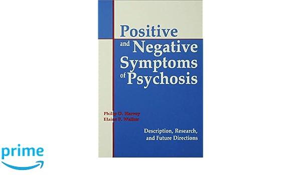 Amazoncom Positive And Negative Symptoms In Psychosis Description