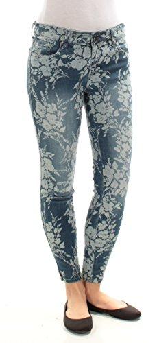 KUT from the Kloth Women's Eva Ankle Skinny Jean, Indigo, 2 (Jeans Print Indigo)