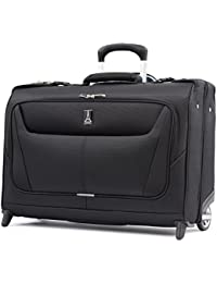 "Luggage Maxlite 5 22"" Lightweight Carry-on Rolling Garment Bag, Suitcase, Black"