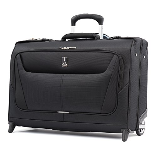 "Travelpro Luggage Maxlite 5 22"" Lightweight Carry-on Rolling Garment Bag, Suitcase, Black from Travelpro"