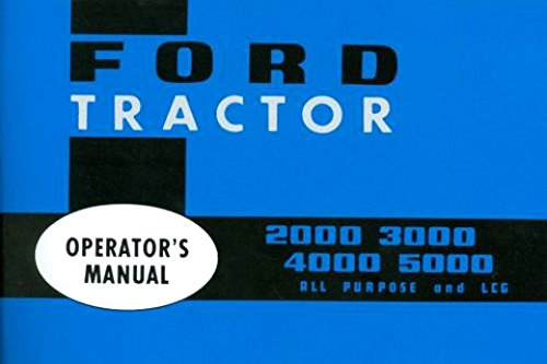 ford 3000 owners manual - 8