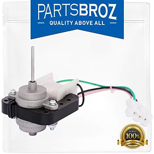 (WR60X10220 Condenser Fan Motor for General Electric GE Refrigerators by PartsBroz - Replaces Fridge Parts AP4298602, 1257132, AH1766247, EA1766247, PS1766247, WR60X10133, WR60X10171, WR60X10192 )