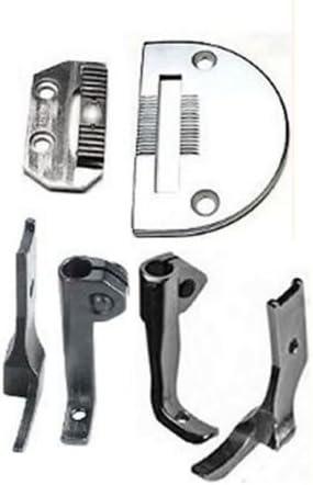 Left /& Right Zipper Feet,NeedlePlate,Feed Dog Consew206RB,Walking Foot Kit