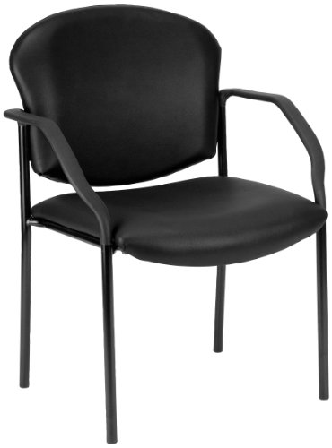 OFM Manor Series Deluxe Vinyl Stacking Guest Chair, (Ofm Dolly)