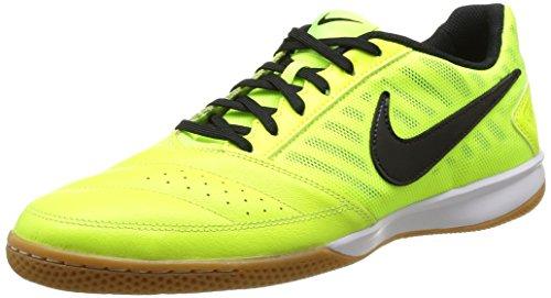 Nike Men's Gato II Volt/Black Indoor Soccer Shoe (11.5)
