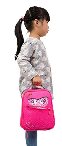Zipit Talking Monstar Lunch Bag, Dazzling Pink (ZTLB-AR-SKY) Photo #3