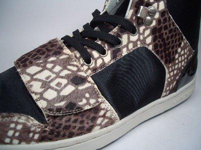 Creative Recreation Cesario MID V Select piel & Vaca Negro cr3949tamaño 42/Us 9/UK 8/27cm
