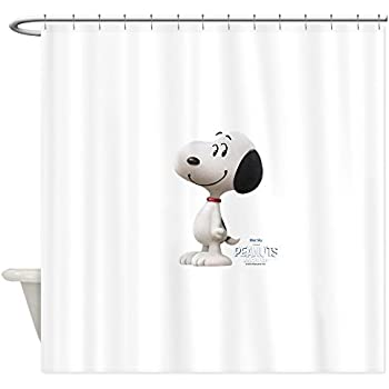Amazon Peanuts Looking Up Snoopy Shower Curtain Home Kitchen