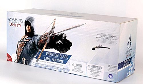Good Value Assassin's Creed Cosplay Weapons Props 1:1 PVC Sleeves Sword Set (Edward 5 Generation Archer Revolution 38 x 13 x 16 cm)