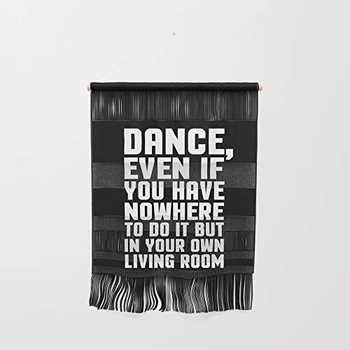 Society6 Wall Hanging, Size Small 11 1/4'' x 15 1/2'', Dance Living Room Music Quote by envyart by Society6 (Image #1)