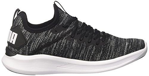 Noir de Ignite White puma Puma Evoknit Chaussures Wn's Flash asphalt Puma Femme Cross Black 8UaXwq