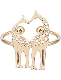Charm Plating Alloy Triangle Ring Elegant Jewelry Ring for Gift or Daily Wear Silver