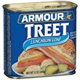 Armour Treet Luncheon Meat Loaf, 12 Ounce - 12 per case.