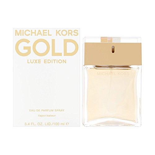 Michael Kors Gold Luxe Edition Eau de Parfum Spray for Women, 3.4 Ounce
