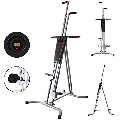 Fitnessclub Vertical Climber Exercise Climbing Machine Home GYM Equipment Stepper Cardio Fitness Total Body Workout fitness climber