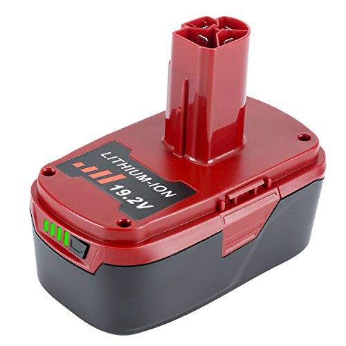 ttery 4.0Ah Replacement for Craftsman 19.2-Volt C3 Battery 130211004 11375 11045 130279005 (4.0Ah 1 Pack) ()