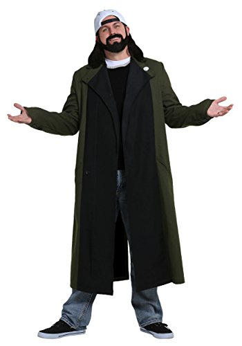 Bob Costume Silent (Silent Bob Men's Costume)