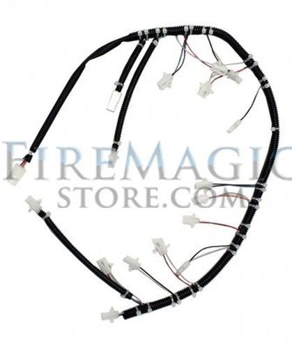 Wire Harness for Aurora with Lights and Hot Surface Ignition by Fire Magic Grills