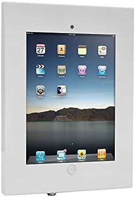 Anti Theft Tablet Security Case Holder 11 Inch Metal Heavy Duty Vesa Wall Mount Tablet Kiosk