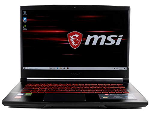 CUK MSI GF65 Thin Gaming Laptop (Intel i7-9750H, 64GB RAM, 2TB NVMe SSD, NVIDIA GeForce RTX 2060 6GB, 15.6″ FHD 120Hz IPS-Level, Windows 10 Home) Gamer Notebook Computer
