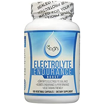 Yogi's Electrolyte Capsules- Endurance Endurolyte Supplement-Electrolyte Supplement-Endurolyte Capsules-Endurance training-100 Capsules