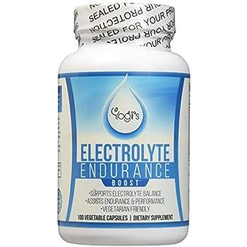 Yogi's Electrolyte Capsules- Endurance Endurolyte Supplement-Electrolyte Supplement-Endurolyte Capsules-Endurance training-100 Capsules