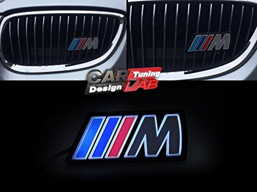 M Front Led Grille Grill Vents Emblem Badge Fits Bmw