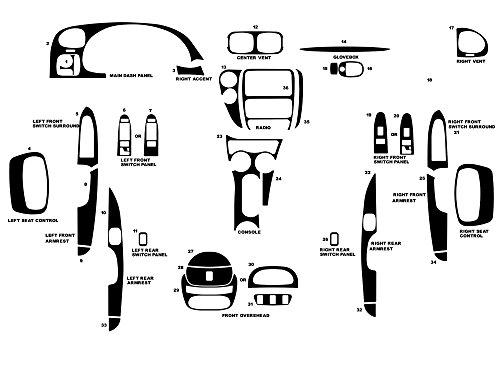 dash kit trim trailblazer - 4