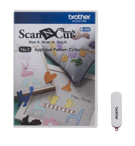 Brother ScanNCut USB No. 2 Appliqué Pattern