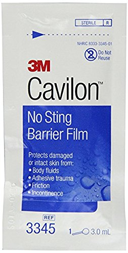 3M No Sting Barrier Film, Foam Applicator (Box of ()