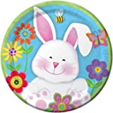 Chubby Bunny Easter Paper Plates 7-inch 8 Per Pack