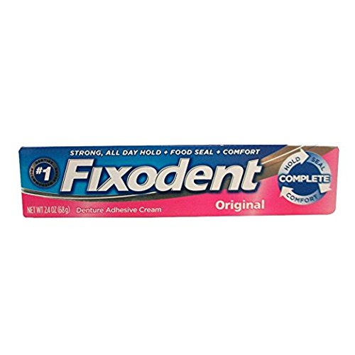 Fixodent Adhesive Cream (Pack of 6) by Fixodent (Image #1)