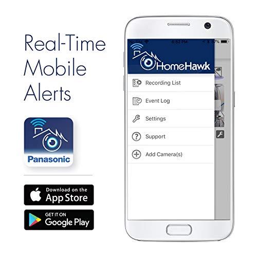 Buy PANASONIC HomeHawk Home Monitoring HD Front Door Camera, Simple