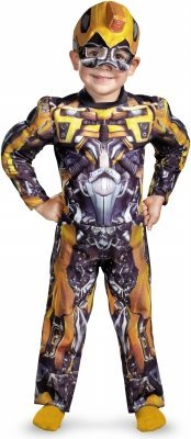 Bumblebee Muscle Costume - Toddler Large