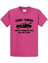 Men's Camel Towing Rude Humor Funny Shirt T-Shirt