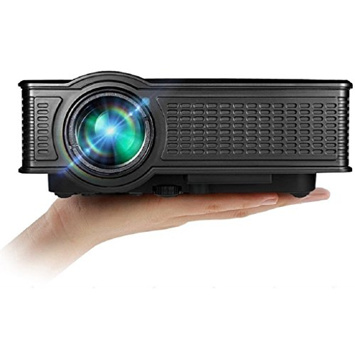 Projector 1500 Lumens Mini , VPRAWLS Portable 1080p Full ...
